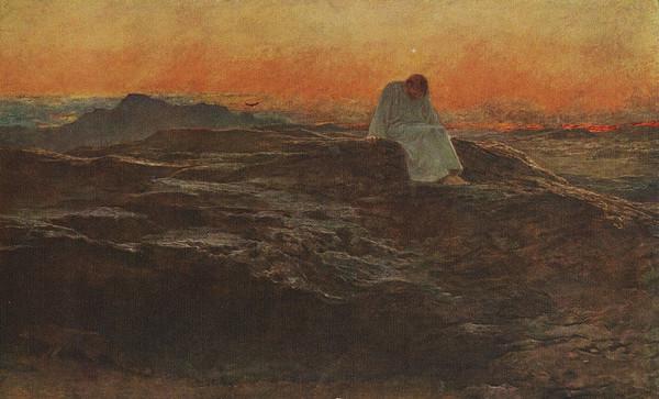 The Temptation of Christ   Sacred Art Meditations