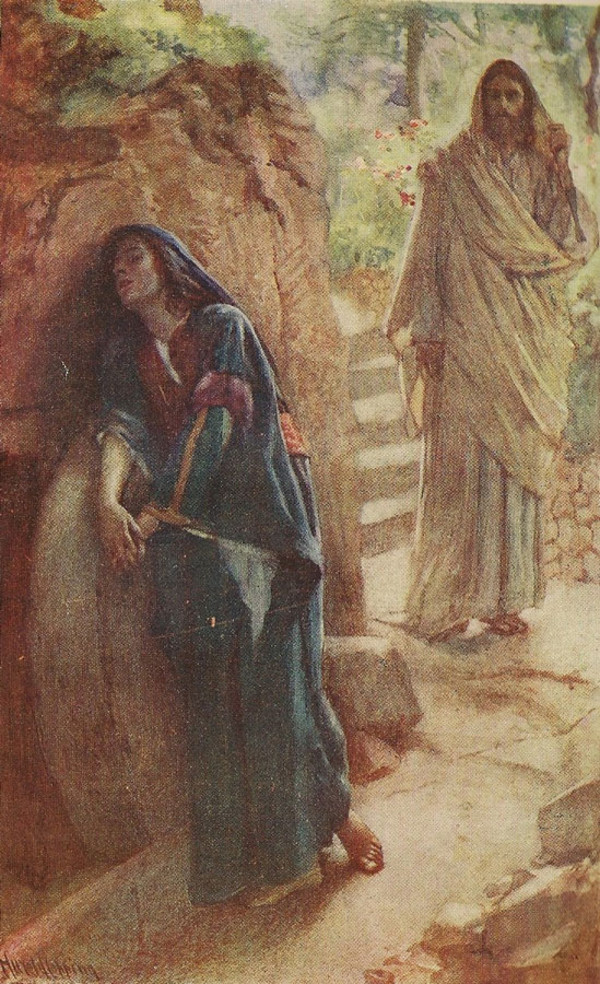 the appearance to mary magdalene sacred art meditations