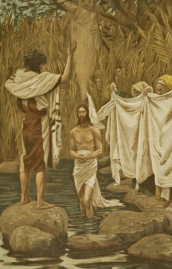 The Baptism Of Christ Sacred Art Meditations