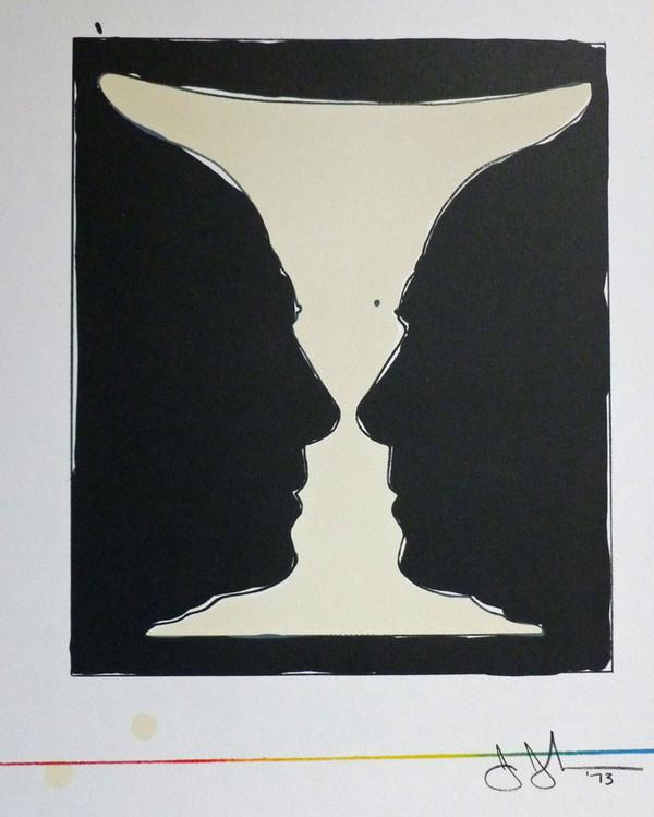 Tadeusz szumarski Nuremberg-Madonna EX LIBRIS MB Copper Engraving c2 Signed 1993